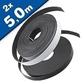 Fliegengitter Magnetband Magnetstreifen selbstklebend 12,7mm breit, je 5 m Typ A + B - für alle Fliegerngitter
