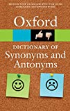 The Oxford Dictionary of Synonyms and Antonyms (Diccionario Oxford Synonyms Antonyms) - Oxford Languages