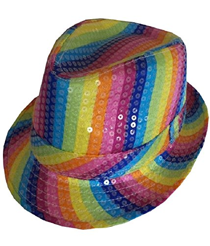 gen Multi Color Pride Kostüm Kostüm - Pick & Mix (Onesize Fits All, Regenbogen Trilby Hut) (Hut Ideen)