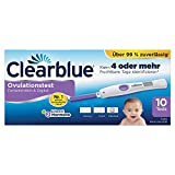 Clearblue Ovulationstest Fortschrittlich & Digital, 10 Tests, 1er Pack (1 x 10 Stück)