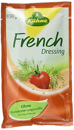 Kühne Dressing French, 15er Pack (15 x 75 ml) (Französisch-kraut-salat-dressing)