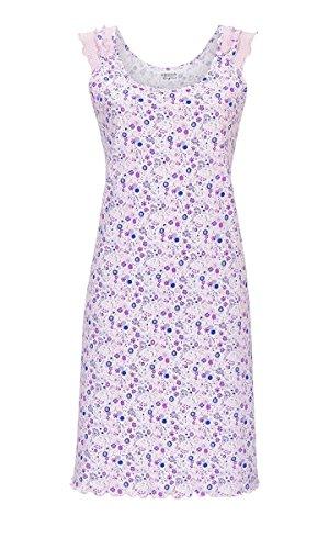 Ringella Lingerie Damen Nachthemd mit Rüschenbesatz nelke 44 9261005, nelke, 44
