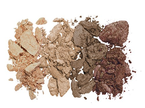 lavera Beautiful Mineral Eyeshadow Quattro ∙ Colour Cappuccino Cream ∙ Vegan - Natural & Innovative Eye Make up - Organic Skin Care - Colour Cosmetics