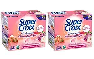 Super Croix Lilas des Indes/Fleurs de Coton 36 Tablettes