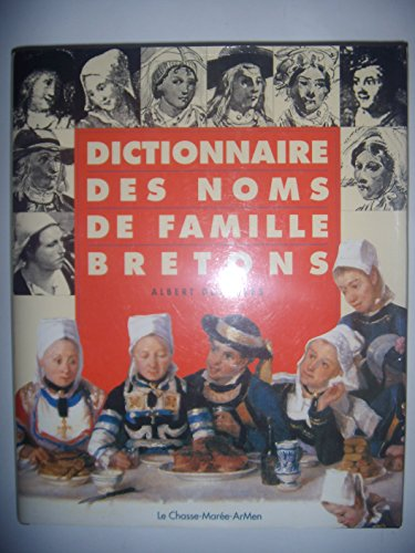 Dictionnaire des noms de famille Bretons par Albert Deshayes
