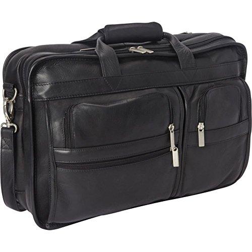 le-donne-leather-expandable-multi-function-brief-black