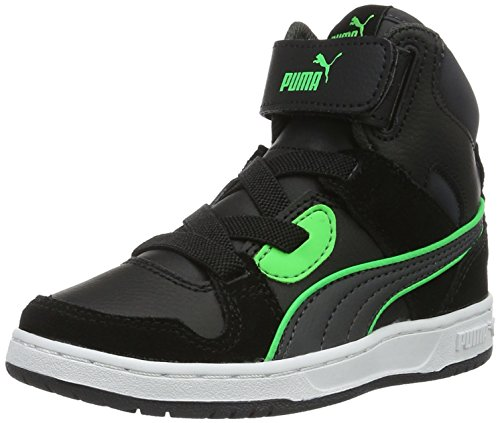 puma-rebound-street-sd-v-ps-sneakers-basses-mixte-enfant-noir-puma-black-asphalt-14-34-eu