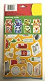 L'enseignement kit de recyclage d'activité Sapin-Peel et place Stickers sur leur assorti conteneurs-Aluminium, plastique, papier et Compost...