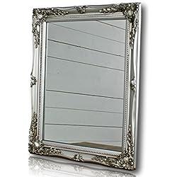 Espejos vintage comprar barato online en esdevintage for Espejo rectangular plateado