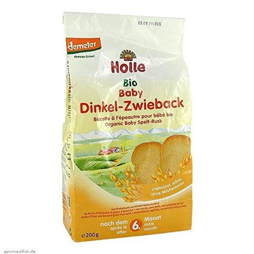 HOLLE Bio Baby Dinkel Zwieba 200 g