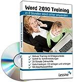 Word 2010 Training - In 8 Stunden Word sicher anwenden | Einsteiger und Auffrischer lernen mit diesem Kurs Schritt f�r Schritt wichtige Grundlagen von Word | CD inkl. Online-Kurs  Bild