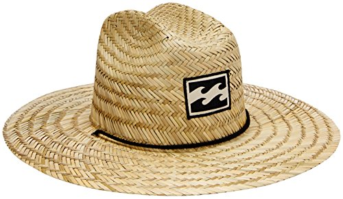 f88a77532a30a Billabong 0882800817428 Mens Tides Straw Hat Natural One- Price in India