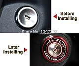 Mebare (TM) Car Ignition couverture Switch accessoires de voiture automatique, 3d autocollant pour Chevrolet Cruze Aveo Trax Malibu / Opel Mokka ASTRA J Insignia