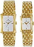 Titan NH19272927YM01 Bandhan Analog White Dial Couple Watch (NH19272927YM01)