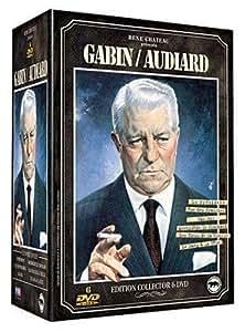 Coffret Gabin / Audiard 6 DVD : Le Président / Rue des prairies / Archimeède le clochard / Le Sang à la tête / Les Vieux de la vieille