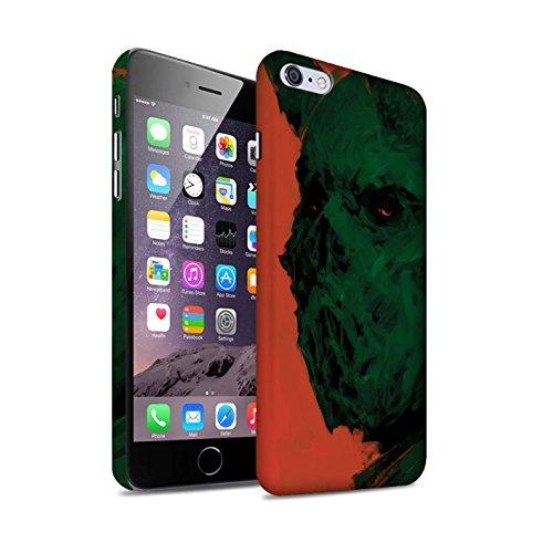 Offiziell Chris Cold Hülle / Matte Snap-On Case für Apple iPhone 6S+/Plus / Teufel/Tier Muster / Wilden Kreaturen Kollektion Ungeheuer/Troll