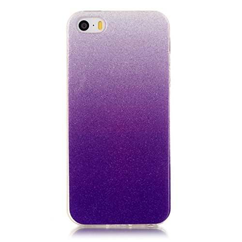 iPhone Case Cover iphone 5 5S Fall, TPU buntes Muster weichen Fall Gummisilikonhaut Abdeckungsfall für iphone 5 5S ( Color : H , Size : Iphone5 5S ) I