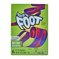 Fruit By The Foot Fruit Flavored Snacks, Berrie Tie-Dye, 6 Rolls - 128g (4.5oz) (6x21g)