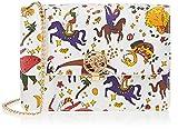 piero guidi Sling, Borsa a Tracolla Donna, Bianco, 20.5x14.5x5 cm (W x H x L)