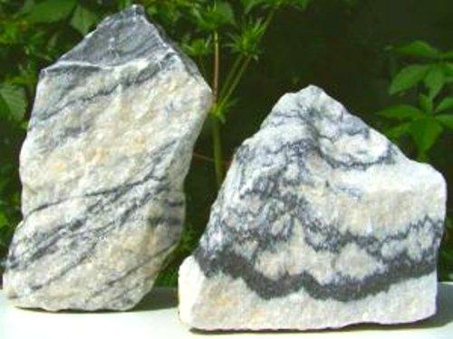 ca. 1 kg Zebrastein, Dekosteine, Aquarium, Dekoration, Terrarium