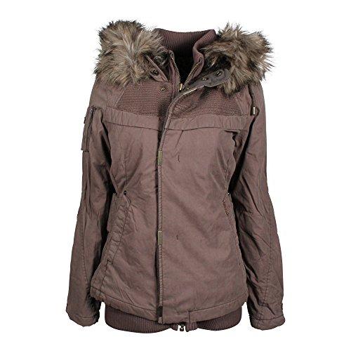 Khujo Meralda giacca invernale mud rose, Frauen:M