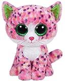 Carletto Ty 37054 - Sophie - Glitzeraugen, Glubschi's, Beanie Boo's, Large 24 cm, Katze Pink