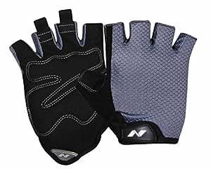 Nivia Python Sports Gloves, Large (Black)