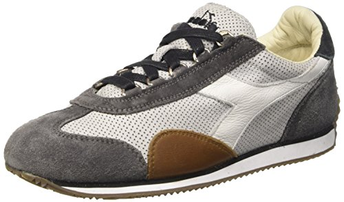 Diadora Equipe L Perf Sw, Scarpe Low-Top Unisex Adulto Grigio (Grey Alaska/Castle Rock)