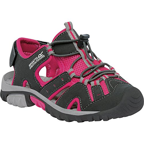 Regatta Great Outdoors Kinder Junior Sandalen Deckside (35EU / 2,5UK) (Eisen/Jem) - Jem Spas