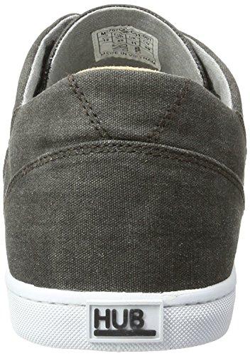 Hub Salvador C06, Sneakers Basses Homme Noir