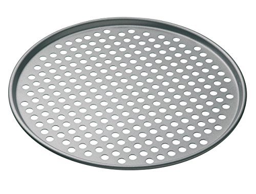 Kitchen Craft KCMCHB14 - Bandeja redonda para pizza (antiadherente, 32 cm)