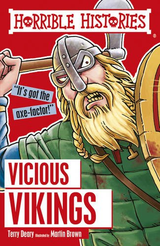 Vicious Vikings (Horrible Histories) por Terry Deary