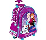 kids4shop Disney Frozen die Eiskönigin TROLLEY KOFFER TROLLY SCHULRUCKSACK RUCKSACK TASCHE SCHULRANZEN RANZEN + Sticker
