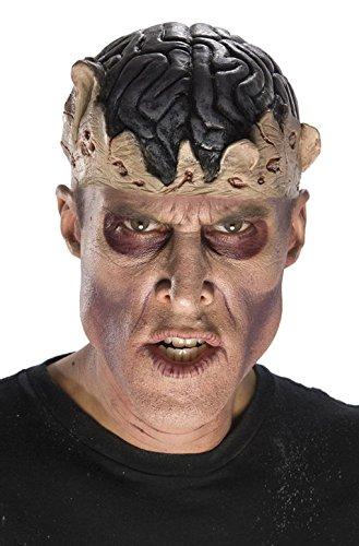 ehirn Kopfbedeckung (Zombie Gehirn Kopfbedeckung Erwachsene)