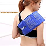 Ohuhu Flexible Ice Pack with Wrap for Hot & Cold Therapy