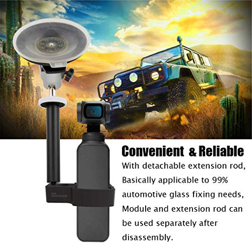 Zubehör, Vehicle Windshield 360° Suction Cup Car Mount 1/4 Bracket Holder (A) ()