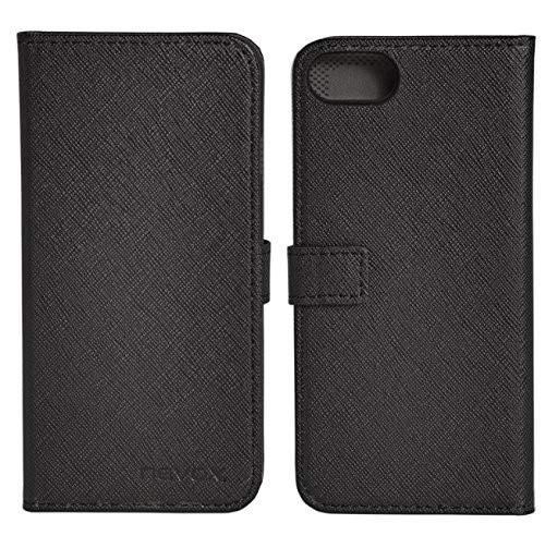 Preisvergleich Produktbild Nevox Ordo – iPhone 7 des-Handtasche Buch,  blanco-gris (1414)