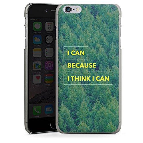 Apple iPhone X Silikon Hülle Case Schutzhülle Motivation Fitness Statement Hard Case anthrazit-klar