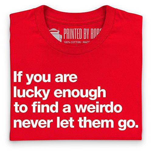 Weirdo T-Shirt, Herren Rot