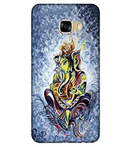 For Samsung Galaxy C9 Pro Ganesha, god, baghwan, lord, jesus, cristrian, allah Designer Printed High Quality Smooth Matte Protective Mobile Case Back Pouch Cover by APEX