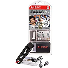 Alpine MusicSafe Pro – Auricolari per la Protezione dell'Udito dei Musicisti – Argento