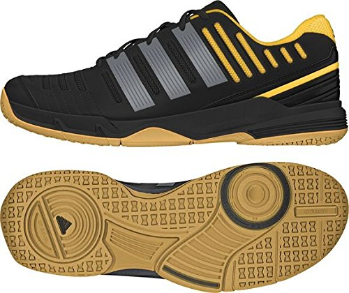 Adidas ESSENCE 11 Black and Orange Men Handball Shoes