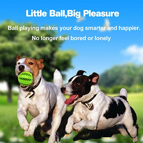 Idepet-Dog-Toy-Ball-Nontoxic-Bite-Resistant-Toy-Ball-for-Pet-Dogs-Puppy-Cat-Dog-Food-Treat-Feeder-Tooth-Cleaning-Ball-Dog-Pet-Chew-Tooth-Cleaning-Ball-Pet-Exercise-Game-Ball-IQ-Training-ball-Green