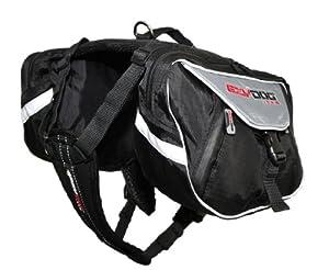 EzyDog Summit Back Pack, Medium, Black by TOWB