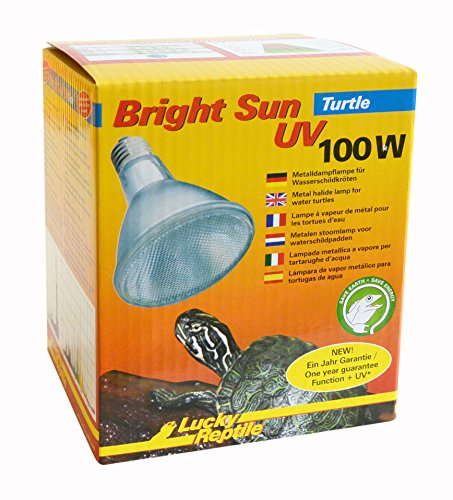 Lucky Reptile BST-100 Bright Sun Turtle 100 W (Bright Sun Uv)