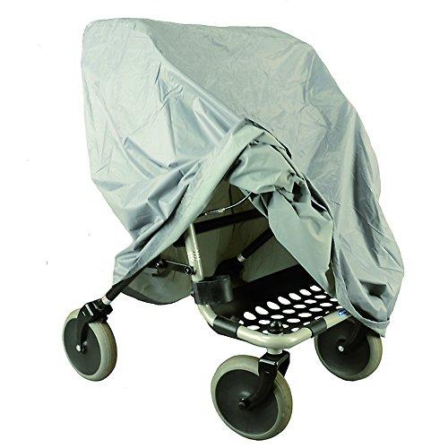 MPB® Rollator Abdeckung grau aus geschmeidigem Nylon