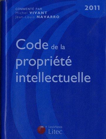 Code de la propriété intellectuelle 2011
