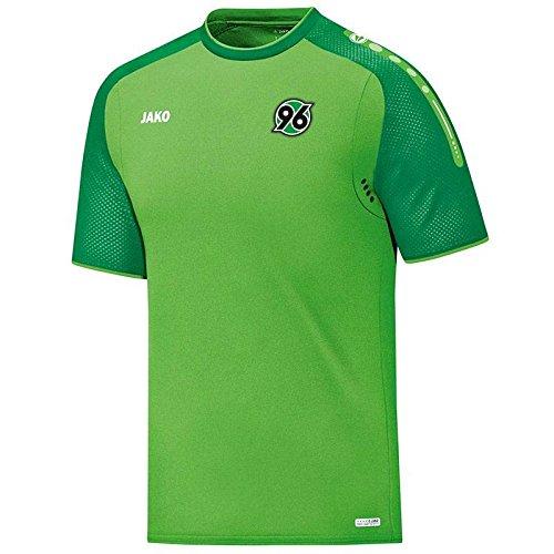 Jako Hannover 96 T-Shirt Champ grün sportgrün, XL (Champs-xl T-shirt)