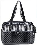 Daeou Zaino per animali domestici Gabbia di gatto PVC pieghevole borsa portatile del sacchetto del cane, 43 * 27 * 19cm