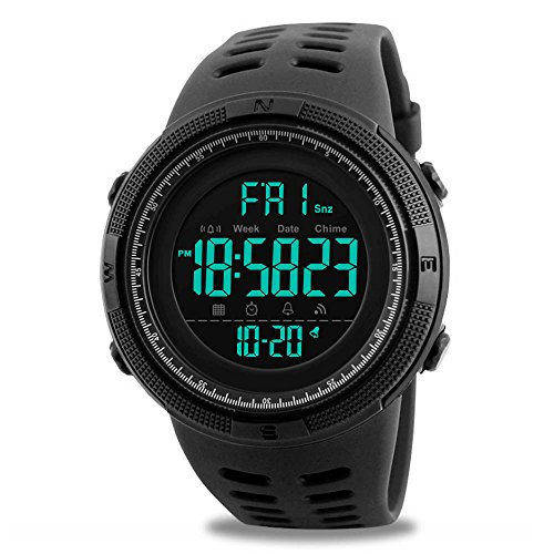 Inventive Casual Style Silicone Strap Electronic Watch 3atm Waterproof Sports Wrist Watch Comfortable And Easy To Wear Digital Watches
